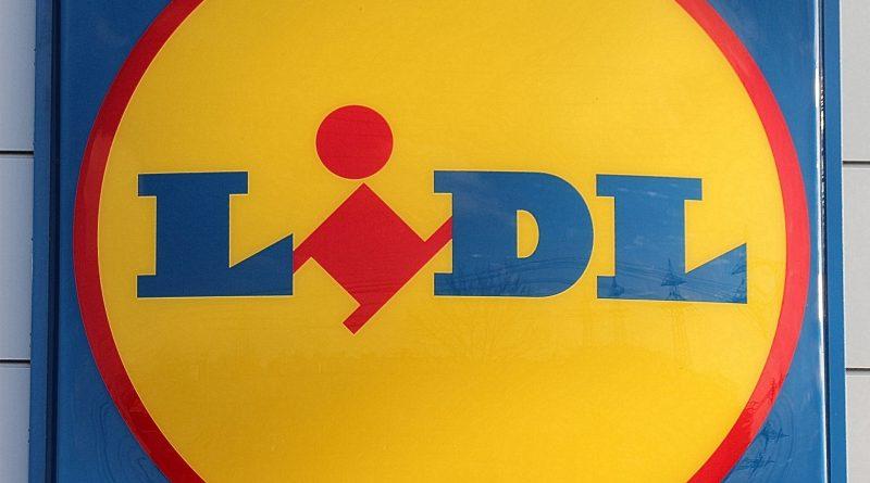 Lidl Schild