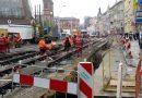 Bauarbeiten am Schienennetz