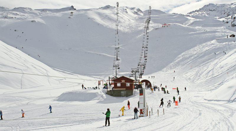 klimaneutrales Skigebiet