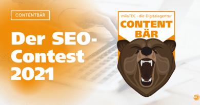 SEO-Contest Contentbär